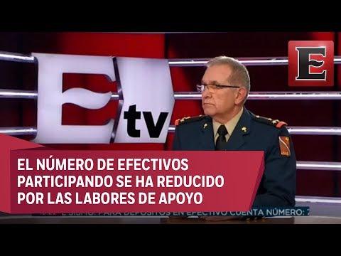 Coronel Miguel Ángel Lizárraga habla sobre el desfile del 16 de septiembre
