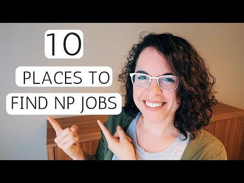 HOW TO FIND A NURSE PRACTITIONER JOB