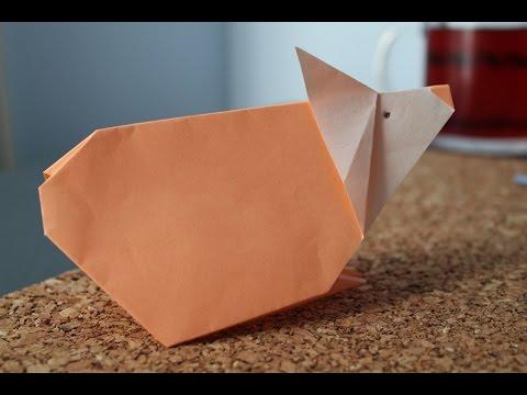 origami hamster