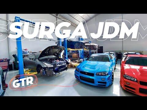 Bengkel JDM Tergokil! | Garage Tour: Excess Automotive