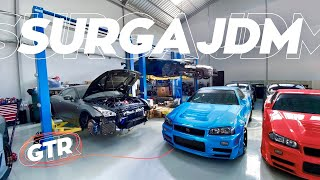 Bengkel JDM Tergokil! | Garage Tour: Excess Automotive