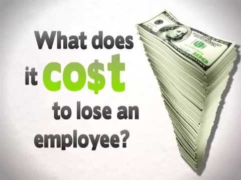 The Real Cost Of Employee Turnover - YouTube