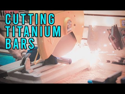 Cutting Titanium Scooter Bars