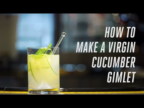 How to make a Virgin Cucumber Gimlet | Emirates Airline