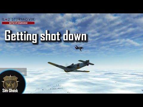 Almost 9 Minutes of me getting shot down - IL-2: Battle of Stalingrad