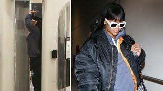 Rihanna Wears Her Bling Through LAX TSA After Fenty X Puma Pop Up Appearance