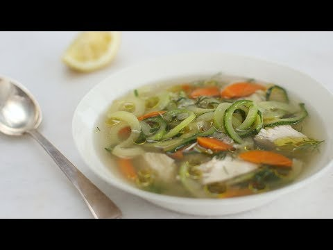 Chicken Zoodle Soup- Healthy Appetite with Shira Bocar