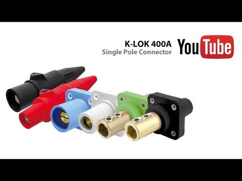 Single pole connector block