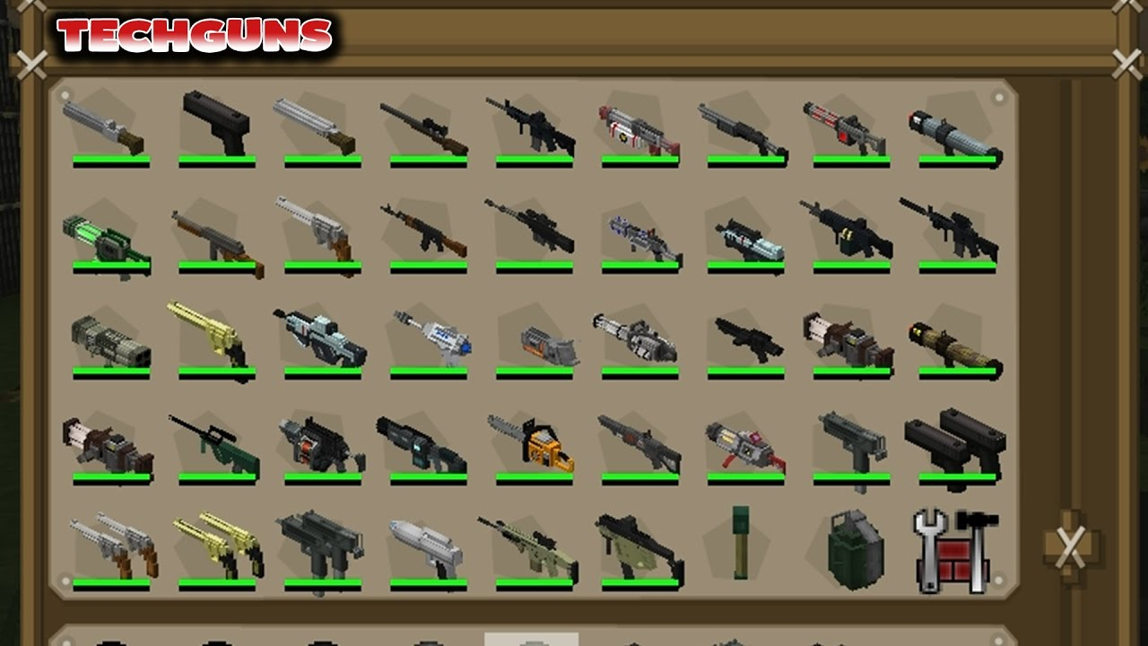 Tech guns mod download
