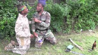 Comedy Video: American Soldiers vs Nigerian Soldiers