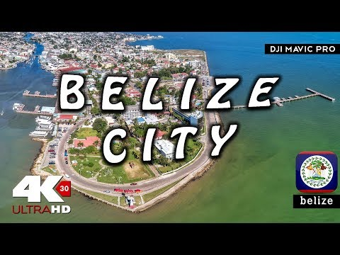 Welcome to Belize City 🇧🇿 | Drone Mavic Pro 4K