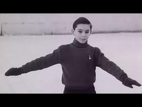 Mladý Ondrej Nepela v roku 1964