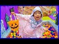 Ryan Pretend Play Box Fort Maze Halloween Edition with Mommy!!!