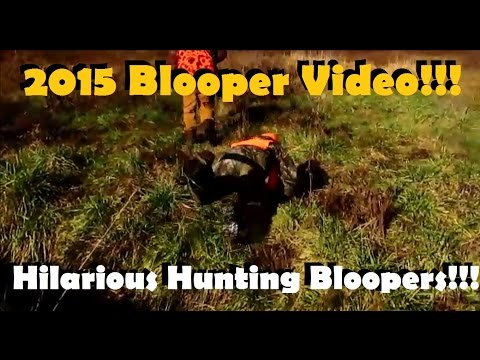 Hilarious Hunting Bloopers Compilation! Yinzer Outdoors 2015 Blooper Video!