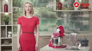 Обзор кухонной машины Bosch CreationLine MUM58720 от эксперта «М.Видео»