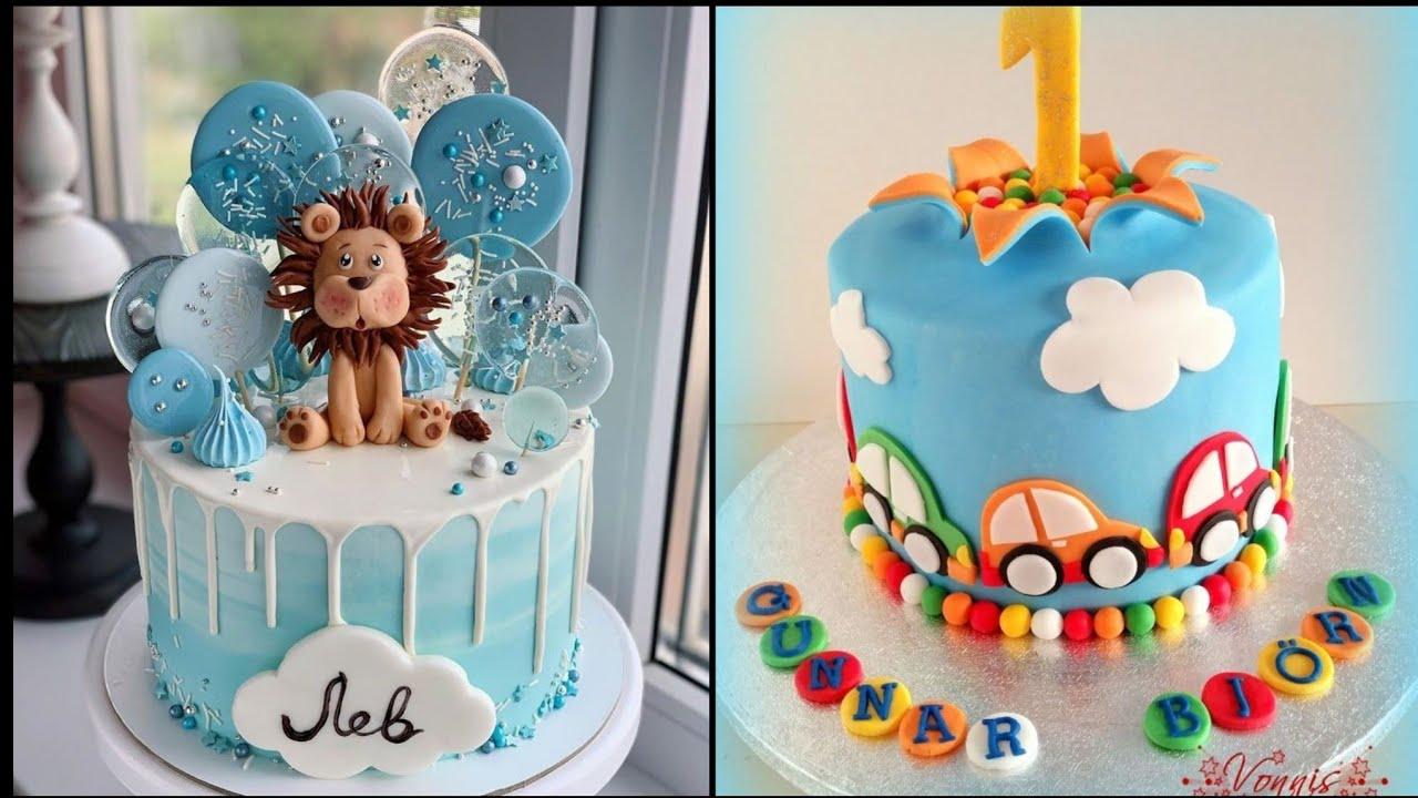 50 Birthday Cake Ideas For Baby Boys Kids Birthday Cakes Youtube