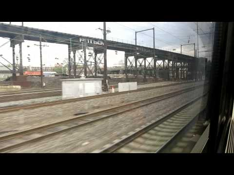 Acela Express train ride from Washington DC to New York (FULL)