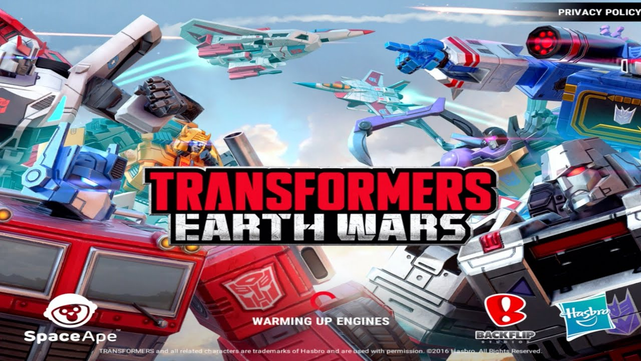 Transformers Earth Wars Trucchi