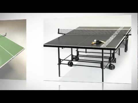 Kettler ping pong table youtube for Table kettler
