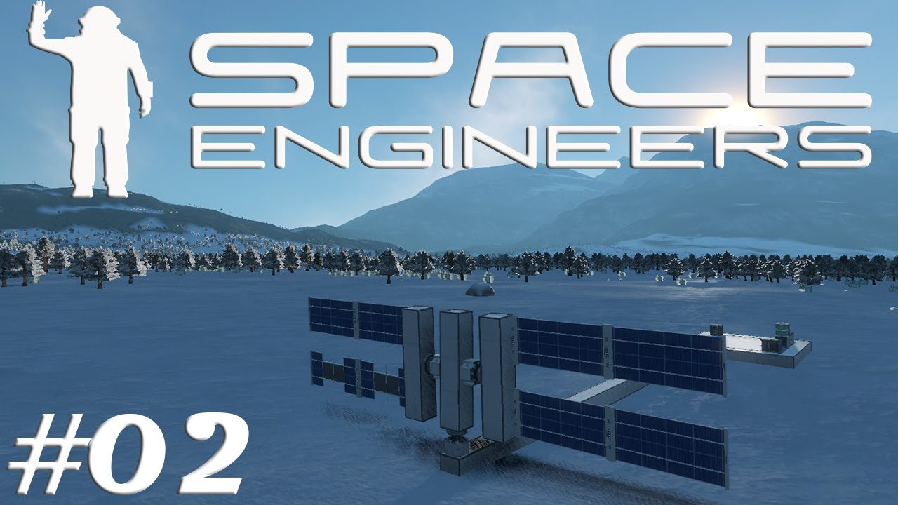 Let S Play Space Engineers S2e02 Sun Tracking Solar Panels
