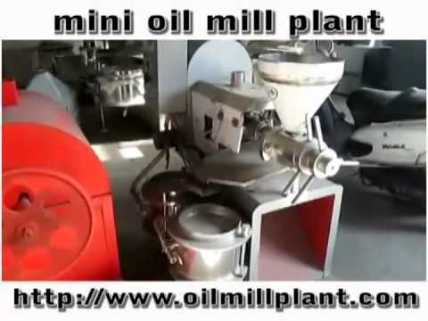 Mini Oil Mill Plant, Small automatic oil pressing line
