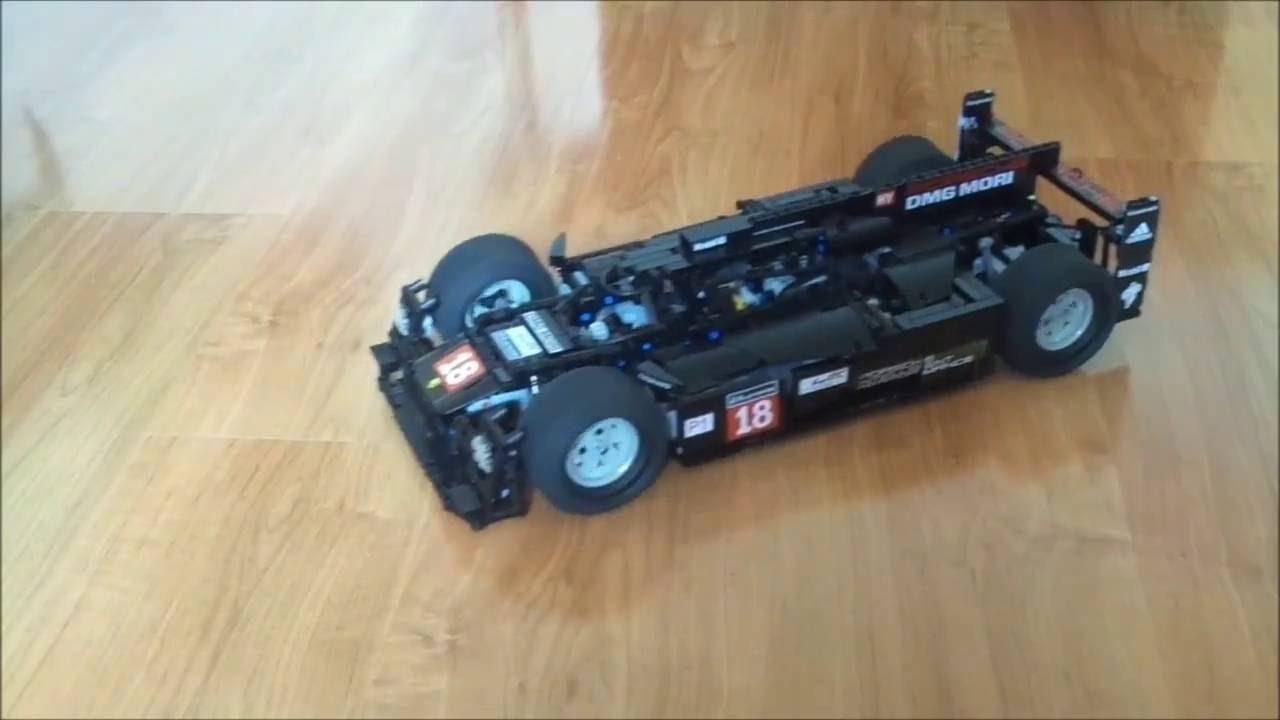lego technic porsche 919 hybrid by psor youtube. Black Bedroom Furniture Sets. Home Design Ideas