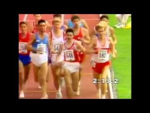 2982 European Track & Field 1990 Split 1500m Men