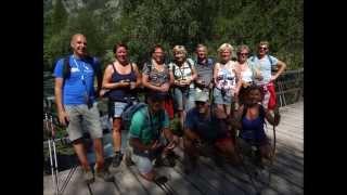 Freissinieres (Hautes Alpes) wandeling en gps workshop met gps wijzer