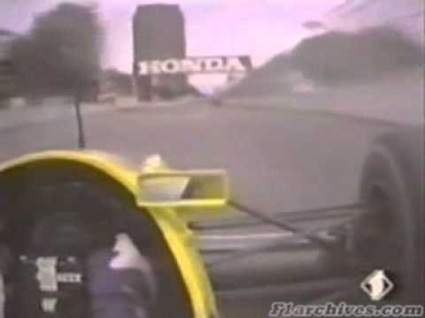 F1 1990 Phoenix - Patrese Williams-Renault Onboard