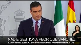 """¡EL VÍDEO QUE DEJA A """"ESPEJITO MÁGICO"""" SÁNCHEZ CON LAS VERGÜENZAS AL AIRE!"""