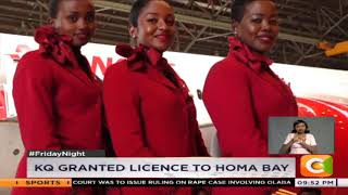KQ granted licence to Homa Bay