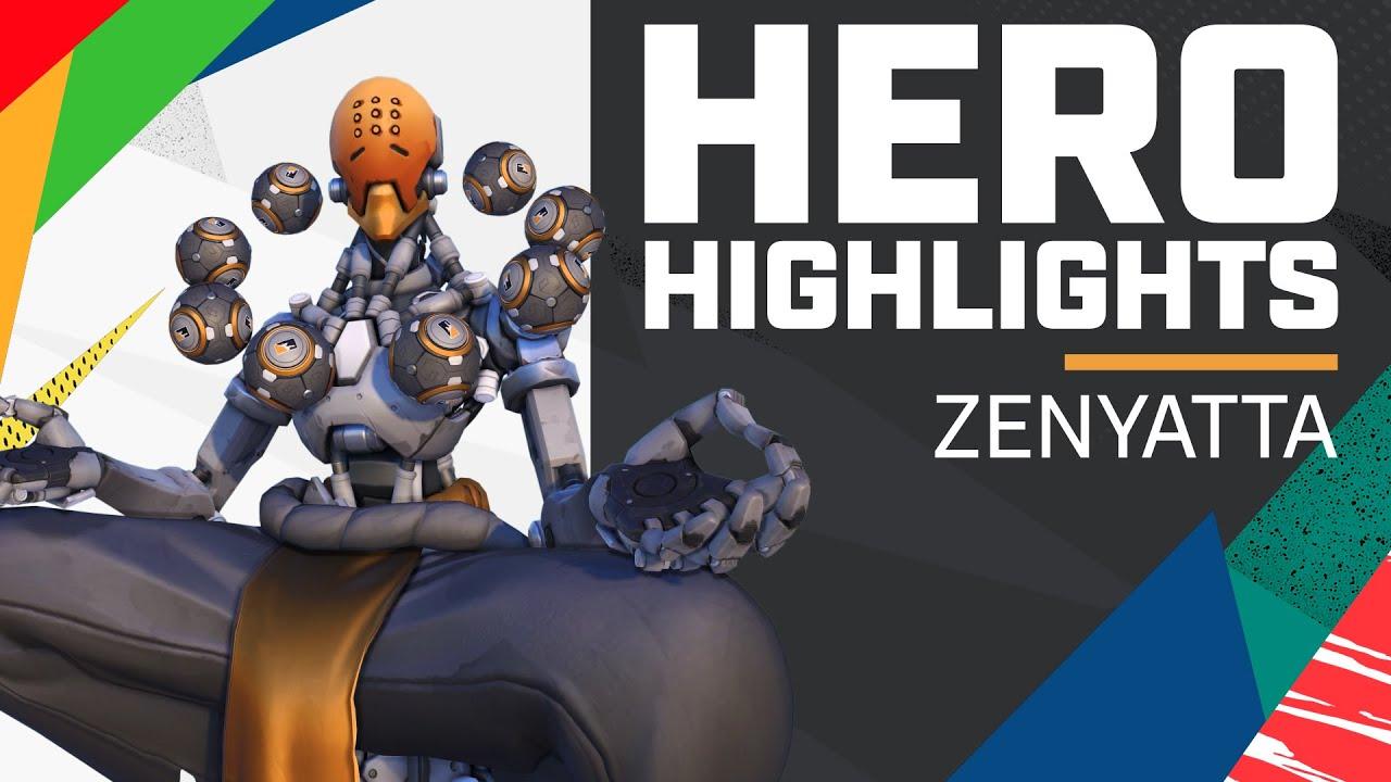 Viol2t the Most CRACKED Zenyatta?! | Hero Highlights — Zenyatta
