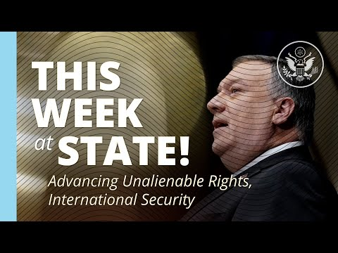 This Week At State • A Review Of The Week's Events At The State Department • January 15, 2021