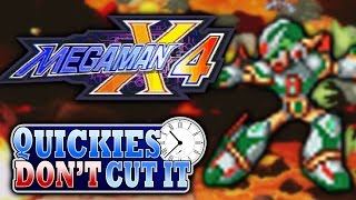 Mega Man X4 Review - Quickies Don't Cut It