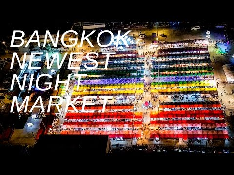 TALAD NEON MARKET, BANGKOK DOWNTOWN NEWEST NIGHT MARKET │Travel Thailand Guide