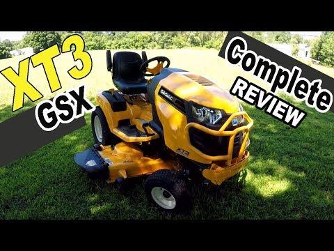 Cub Cadet XT3 Garden Tractor Review - XT3 GSX 54 Deck