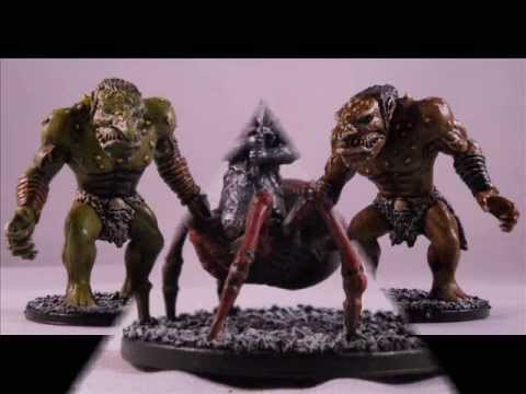 A Look At My Legend Of Drizzt Minis Youtube