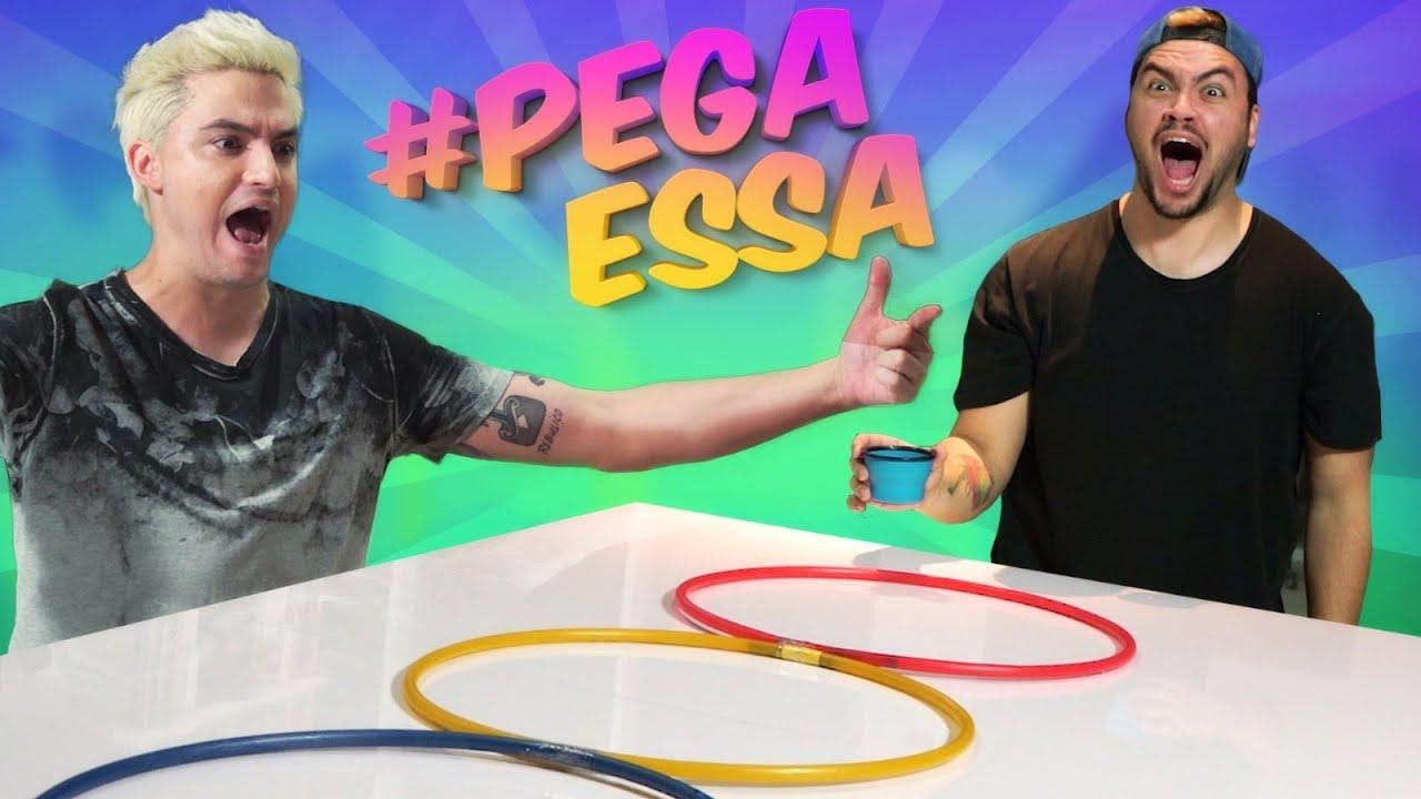 FELIPE vs LUCCAS - DESAFIO DAS BOLINHAS!!