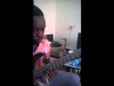 hallelujah mo yi Nyame a ye bass lesson by afriyie soul food gospel  band