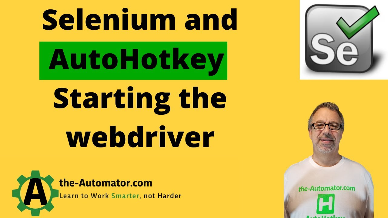 Cross browser web scraping with AutoHotkey and Selenium