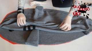 DIY: sleeping bag shark