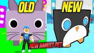 Le PET 'NEW' RAREST dans PET SIMULATOR WINTER UPDATE IS SOO HARD TO GET... Pingouin géant (Roblox)