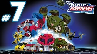 Transformers Animated - PART 7 - Best Drone Ever & Bulkhead is Patrick Star!