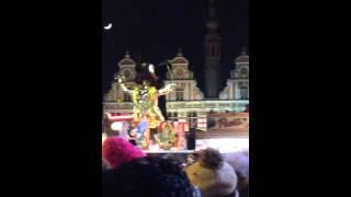 Oilsjt Carnaval 4 maart 2014  - # Aansteken van pop door Prinsj Werner