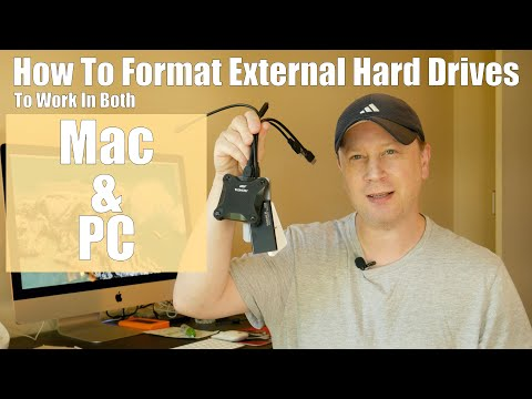 How To Format External Hard Drives So They Work On Both Macs and PCs
