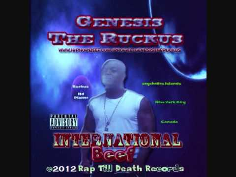6. Genesis The Ruckus - V Nasty & kreayshawn (Diss) International Beef Cd. Rap Till Death Records