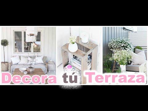 ideas de como decorar terrazas porches ticos