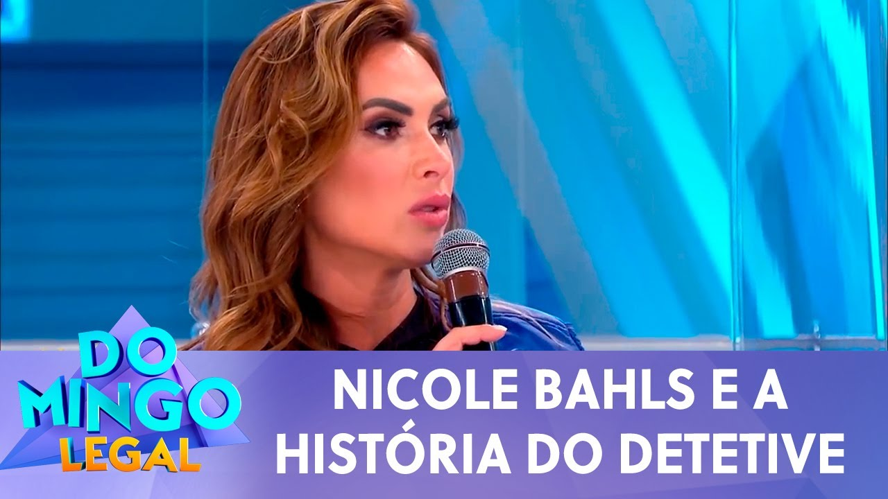 Nicole Bahls e a história do detetive | Domingo Legal (09/08/20)