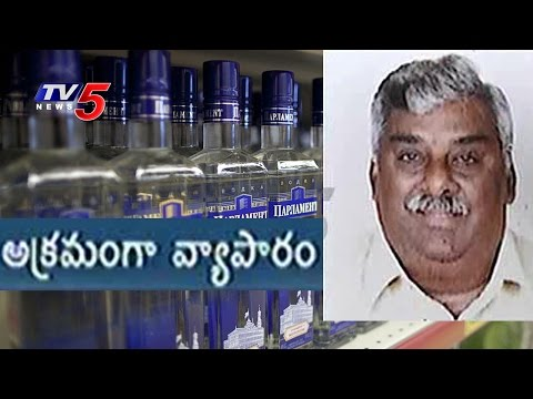 10K Foreign Liquor Bottles Seized In Hyderabad | TV5 News