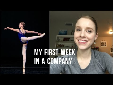 My First Week in a Professional Ballet Company - TwinTalksBallet